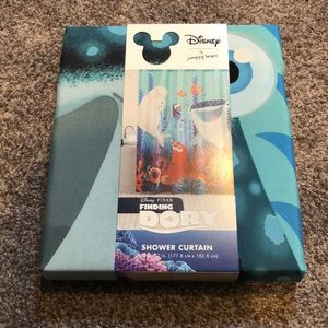 Disney Shower Curtain finding dory